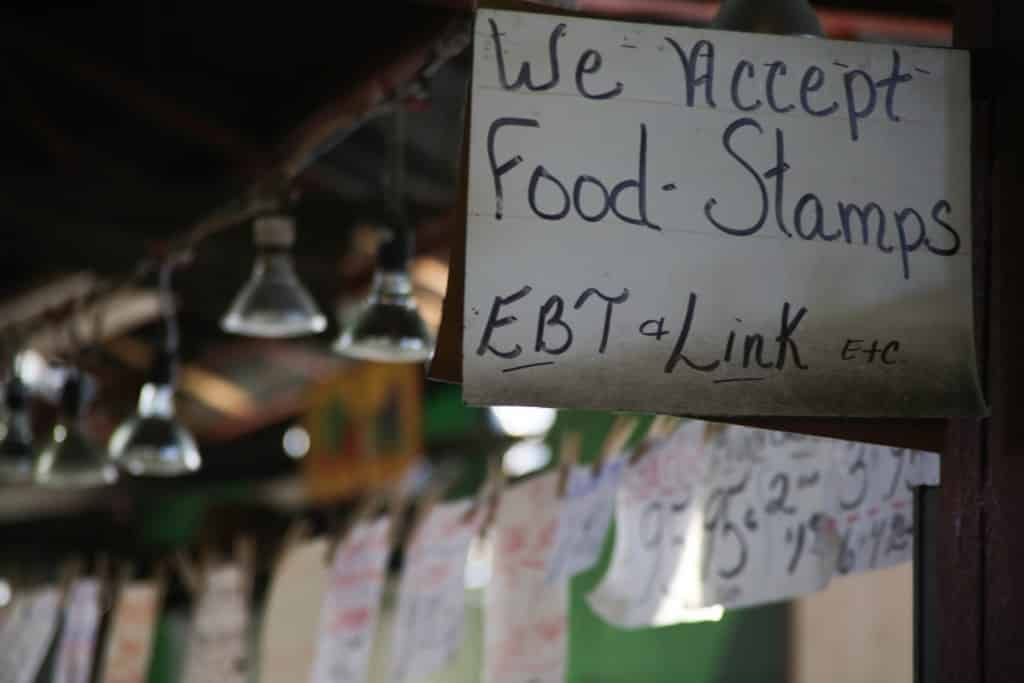 We Accept Food Stamps
